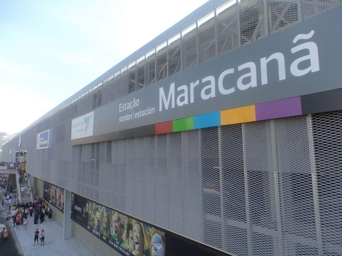 facciata Stazione Maracanã Fratelli Mariani