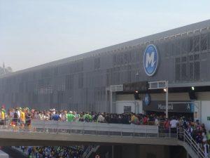 tela metallica Fratelli Mariani Stazione Maracanã