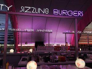 The Diner lamiera stirata