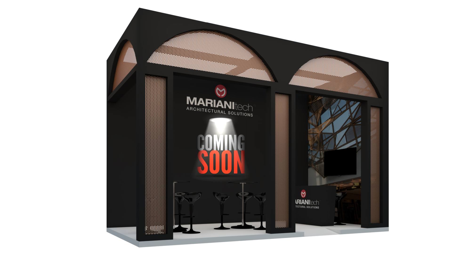 Stand Fratelli Mariani al Big 5 Dubai 2019