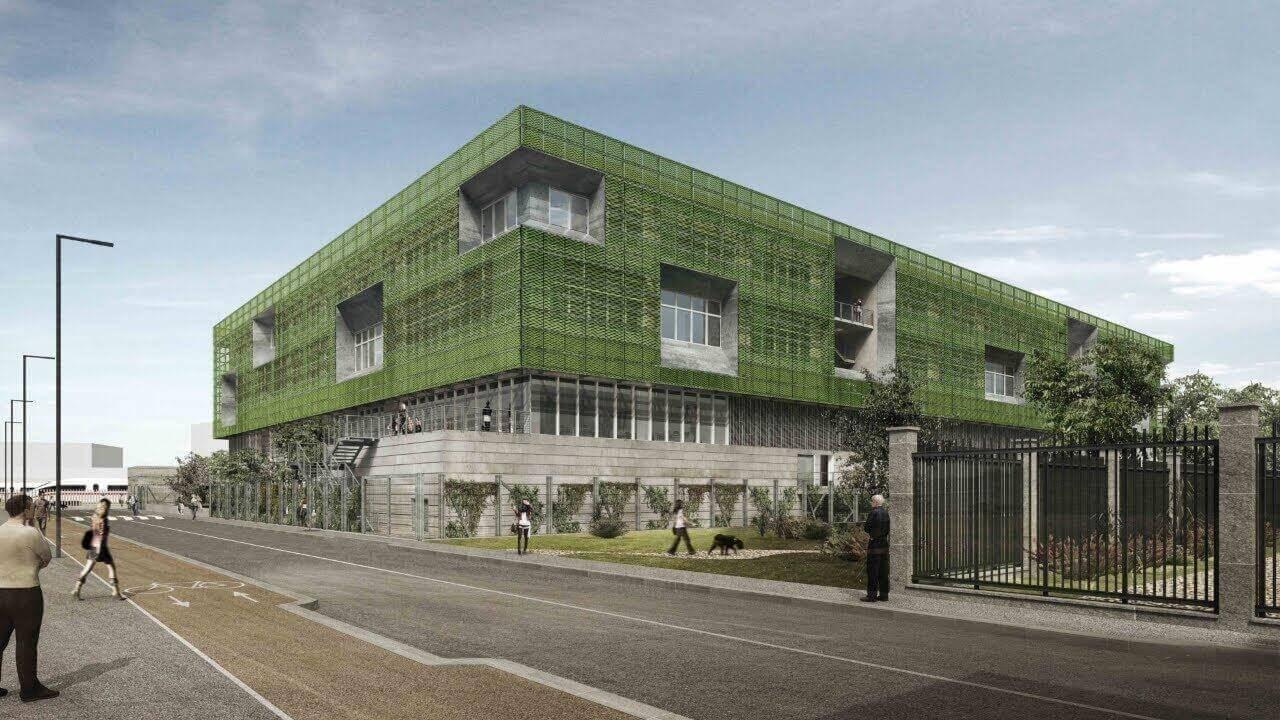 Centro Biotecnologie Medicina Traslazionale progetto Lamiera Stirata